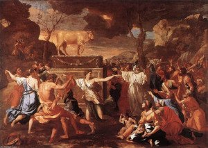 Nicolas+Poussin+-+The+Adoration+of+the+Golden+Calf+